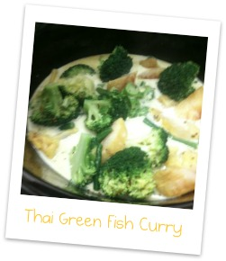 Slow Cooker Thai Green Fish Curry Mediocre Mum