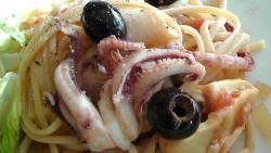 Thumbnail image for Slow Cooker Sunday:  Squid in Puttanesca Sauce