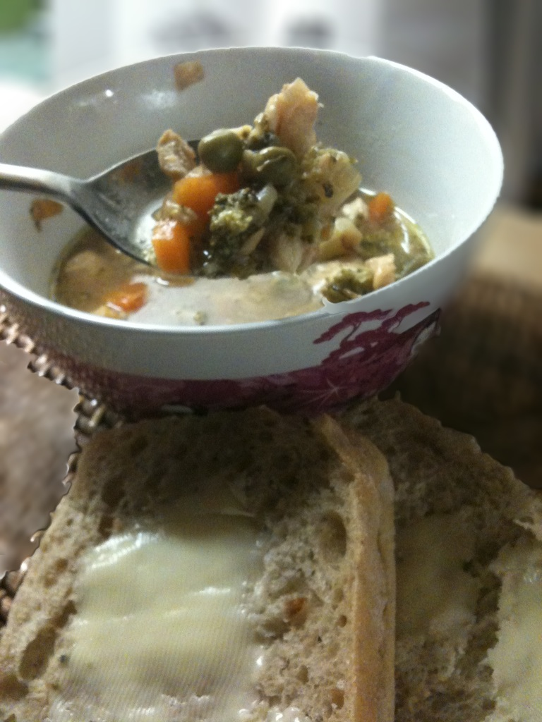 Slow cooker sunday mixed fish and vegetable soup for Fish slow cooker recipes