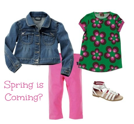 Spring Fashion for Girl's