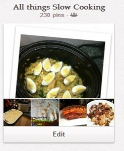 Pinterest Board for Slow Cooking
