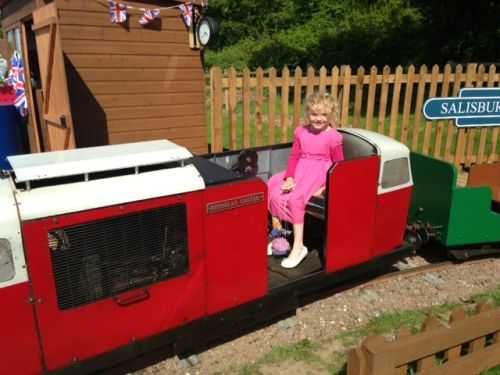 Miniature Railway, St Albans, Herts