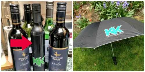 Wine Bottle Umbrella from Katwalk Kimberly's