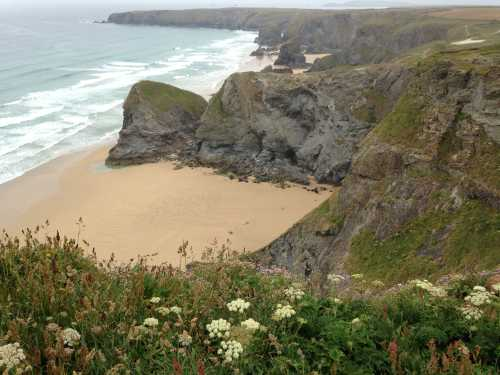 Beaches near Newquay Cornwall