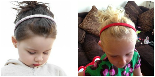 Ponytail with Hairband