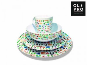 Stylish Melamine Camping Dishes