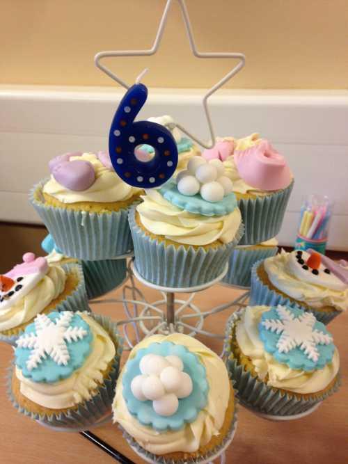 Heavens a Cupcake - Sledging