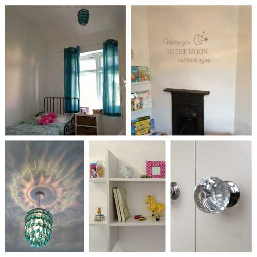 Girl's Room in Teal
