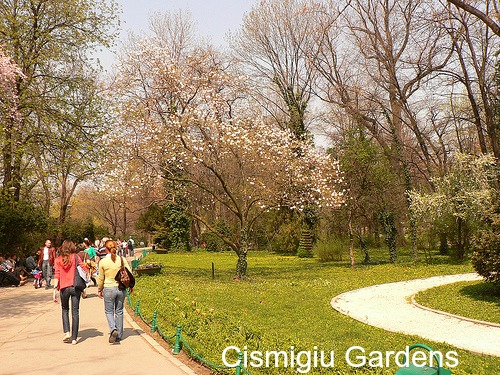 Cișmigiu Gardens, Bucharest