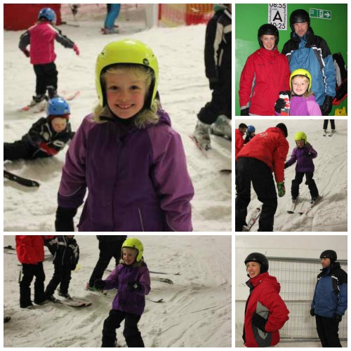 Learning to ski at Snozone in Milton Keynes