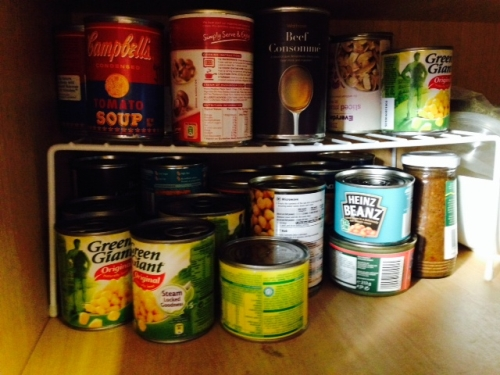 Ideas for storing tins