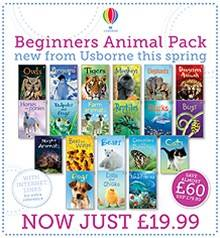 Beginners Animal Pack Usborne, St Albans