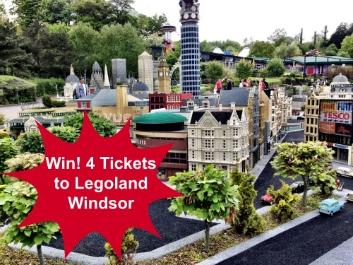 Win 4 Tickets to Legoland Windsor