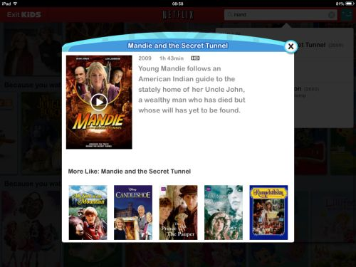 Mandie on Netflix UK