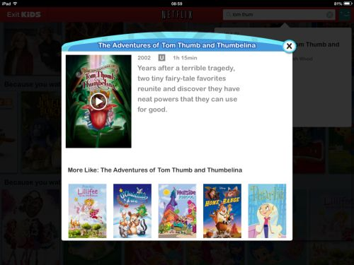 Kids movies on Netflix