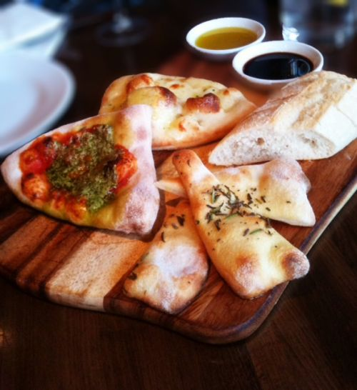 Bread Board to Share at Prezzo, St Albans, Herts