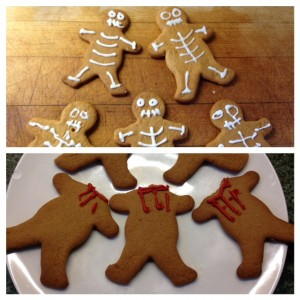 Easy Halloween Cookies to make with Kids