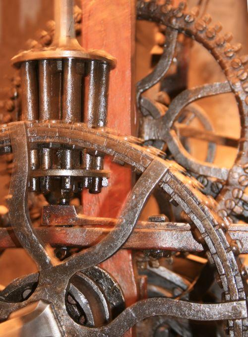 Inside Clock Tower in Bern