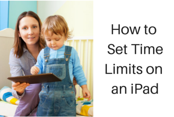 How to set time limits on an iPad