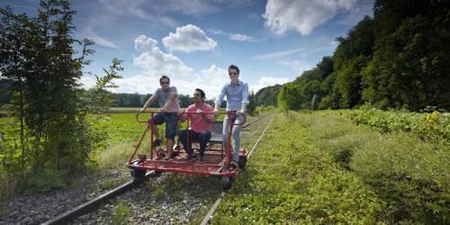 Rail Bikes in Switzerland