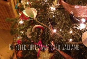Recycling Christmas Cards