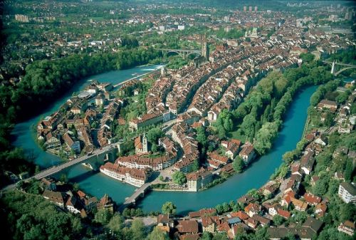 The Aare River Bern