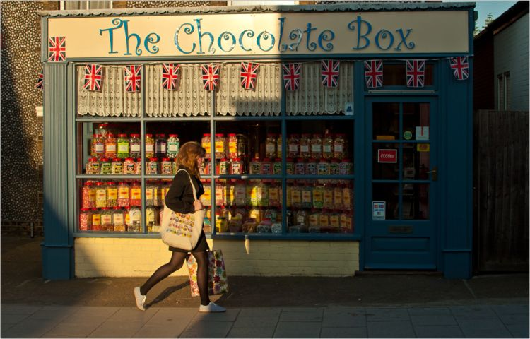 Chocolate Box in Sheringham, Norfolk