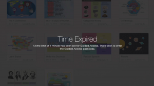 Time Expired Guided Access