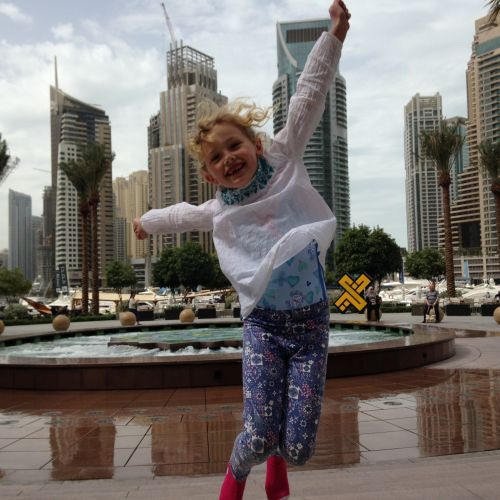 Walk Along Dubai Marina