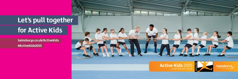Launch of Sainsbury's Active Kids Campaign