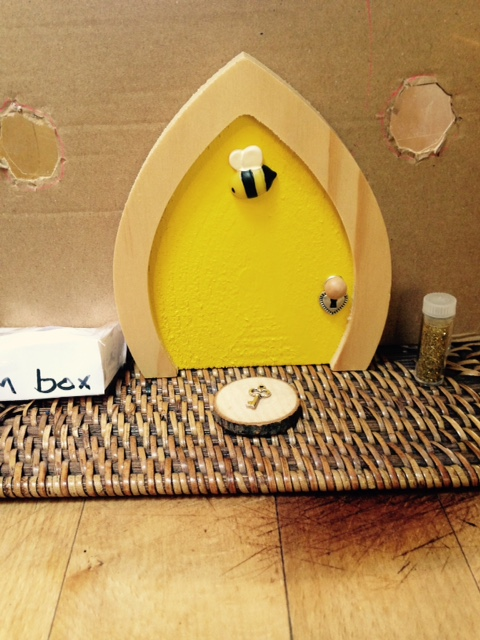 Bumble Bee Fairy Door