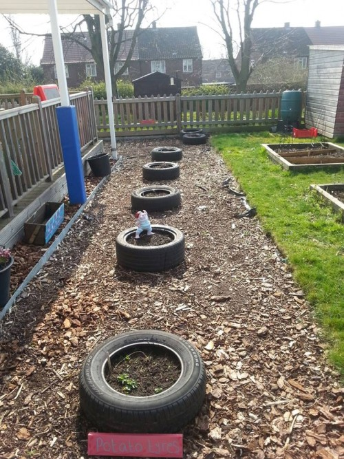 Ideas for recycling tires
