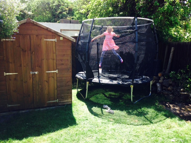 Trampolines for Small Gardens