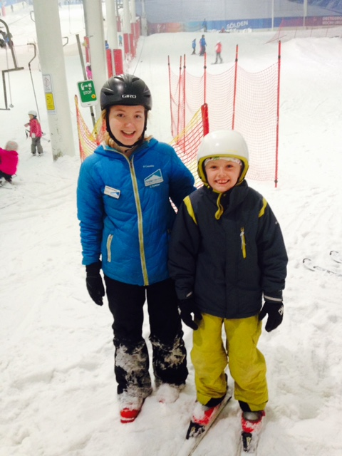 Skiing Lessons for Kids near London