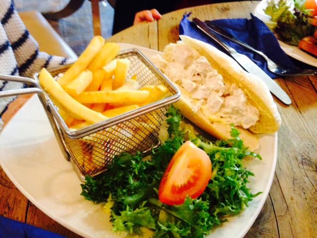 Food at the Lodge, Hemel Snow Centre