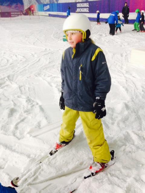 How to teach kids to ski